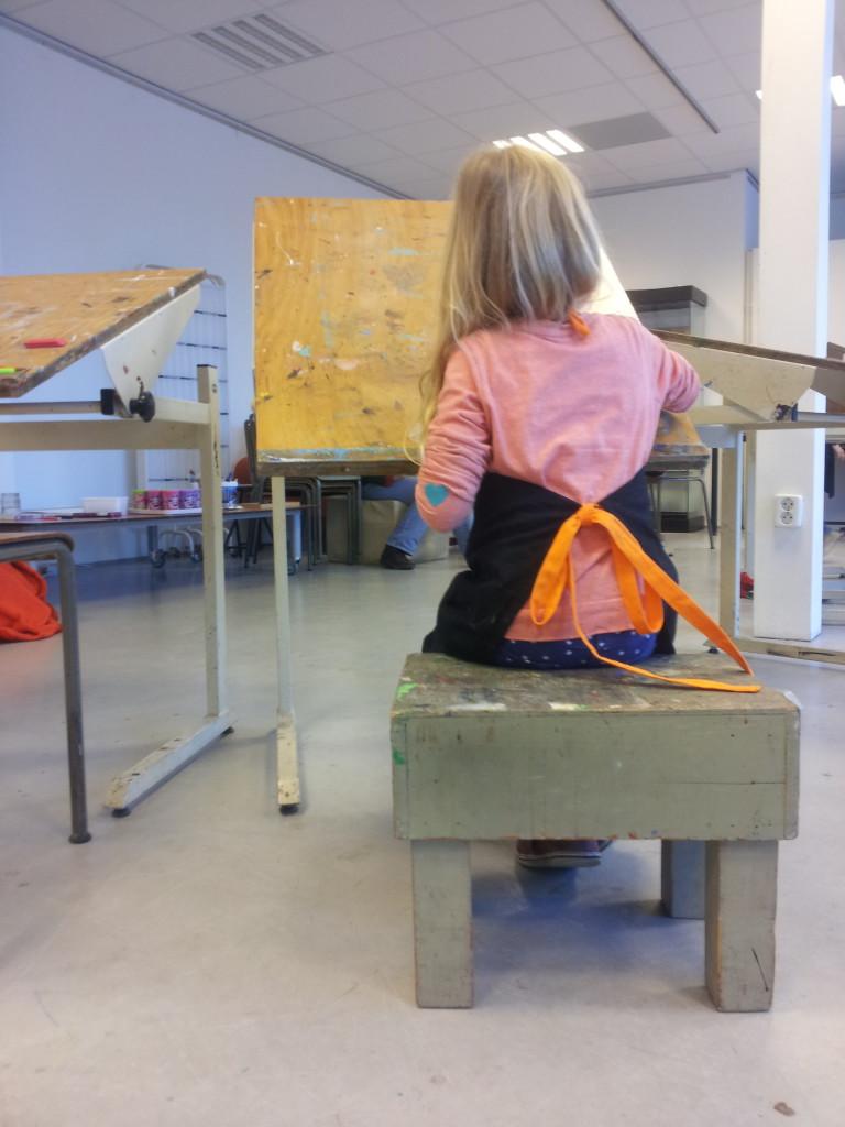 Teken en schilderlessen voor kinderen in Zwolle bij Atelier Blauw